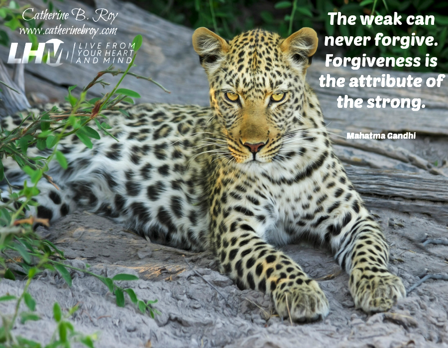 Forgiveness is the Atribute of the Strong