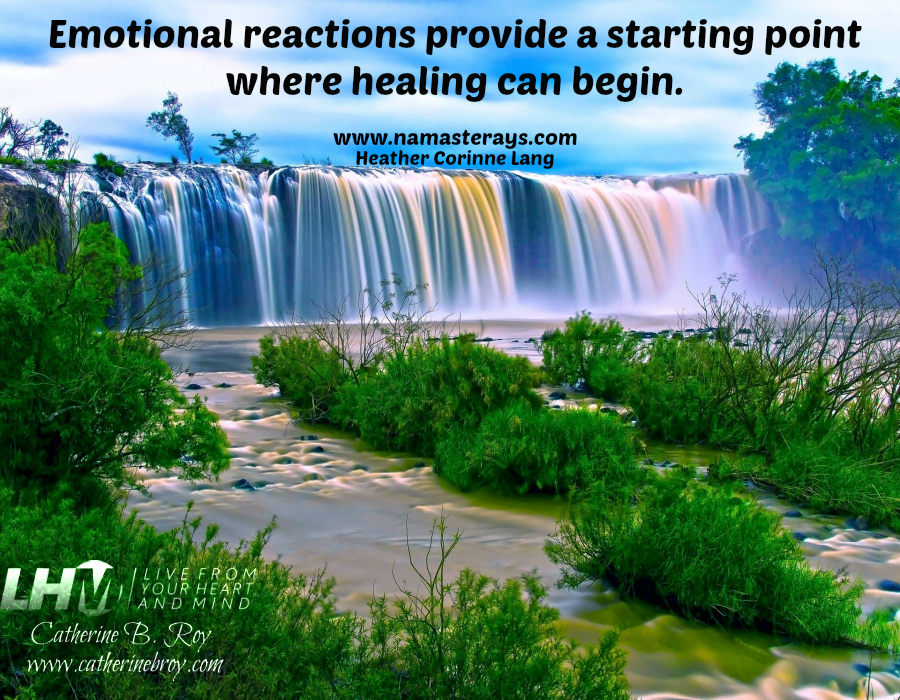 Healing and Emotional Reactions