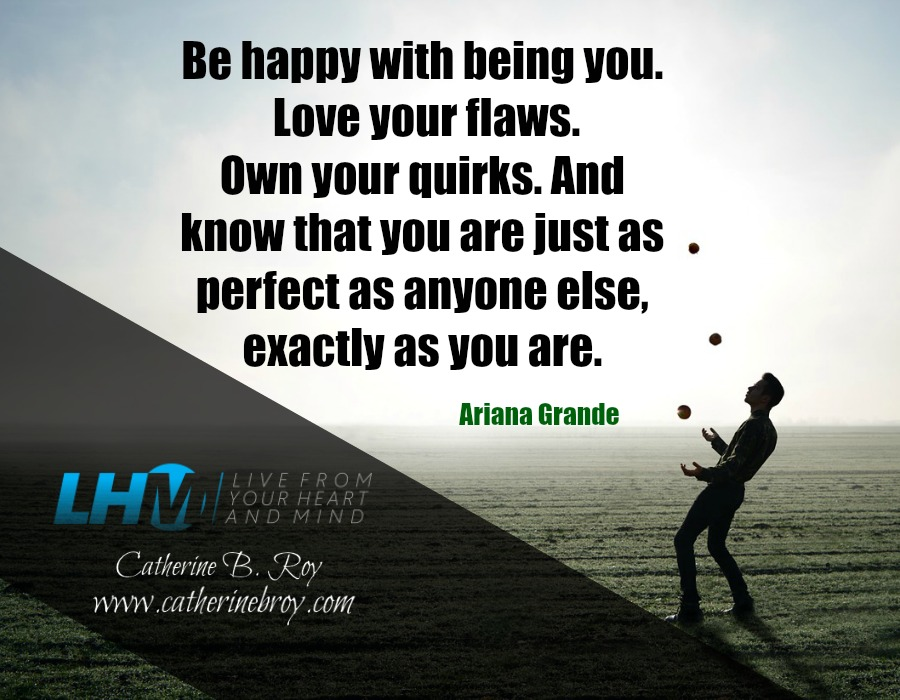 Be happy with being you - poster