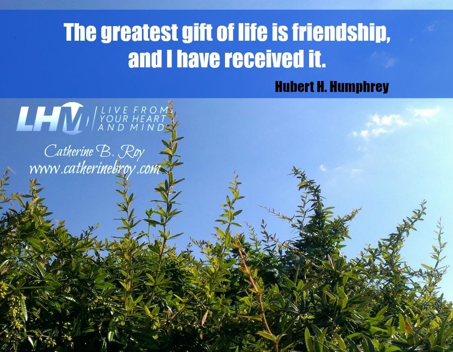 Friendship, Hubert H. Humphrey