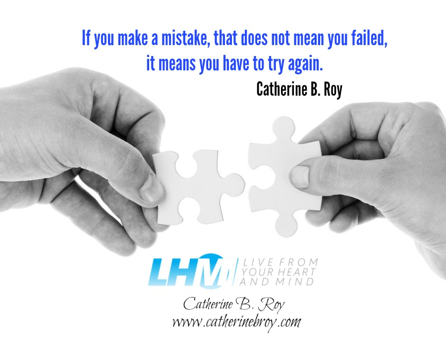 If You Make a Mistake, Catherine B. Roy