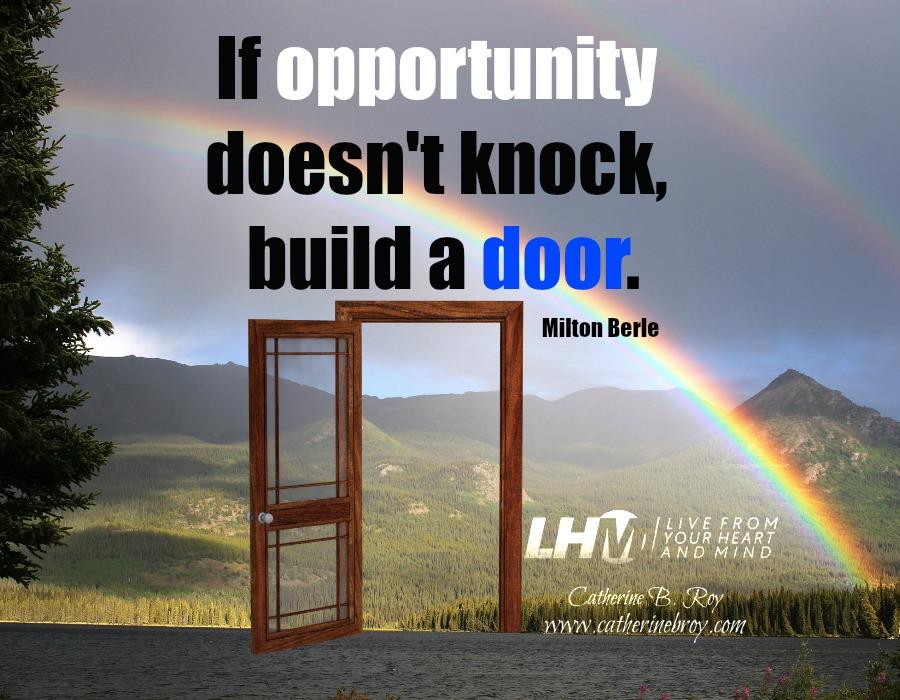 Opportunity, Milton Berle