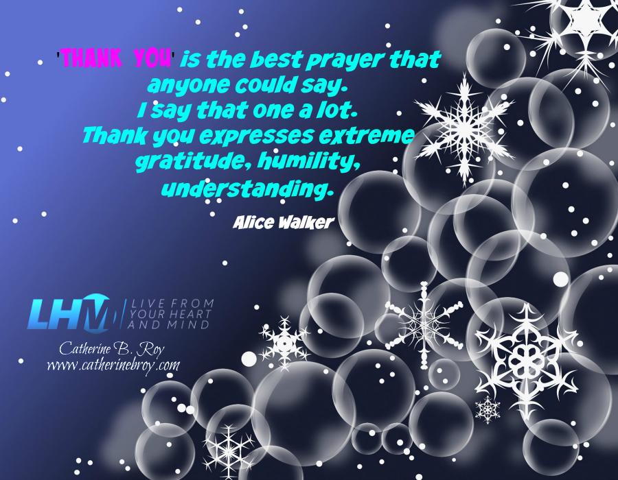 Thank You, Alice Walker